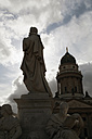 Germany, Berlin, View of dom with statue - JMF000102