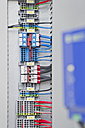 Germany, Munich, Electronic circuit board with wires - WESTF017825