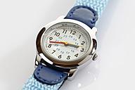 Wrist watch on white background, close up - CSF015435