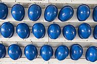 Germany, Row of helmets - MSF002544