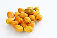 Kumquat on white background - CSF015606