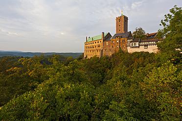 Germany, Thuringia, Eisenach, View of Wartburg - WDF001186