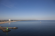 Germany, Rostock, View of harbour and hotel - MSF002593