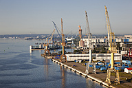 Germany, Rostock, View of harbour - MSF002598