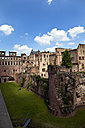 Germany, Baden Wuerttemberg, Heidelberg, View of Heidelberg Castle - CSF015723
