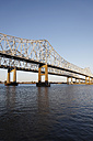 USA, New Orleans, View of Bridge over Mississippi - ANBF000083