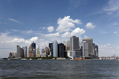 USA, New York City, View of skyline - ANBF000088