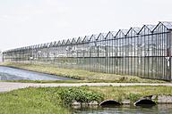 Netherlands, Zeeland, View of glass house - ANB000109