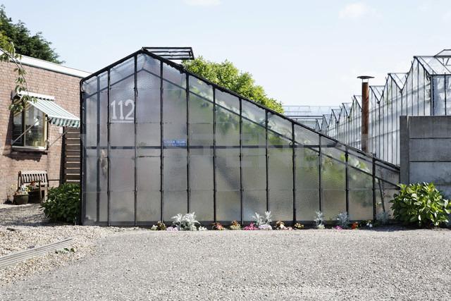 Netherlands, Zeeland, View of glass house - ANB000110 - Anja Bäcker/Westend61