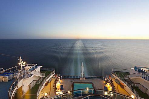 Baltic Sea, Cruise ship travelling between Russia and Finland - MS002624