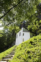 Austria, St. Gilgen, View of Falkenstein church - WWF001965