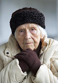 Austria,  Portrait of senior woman, close up - WWF002039