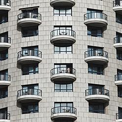 Israel, Tel Aviv, View of hotel - TH001159
