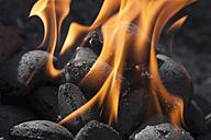 Germany, Burning charcol - LFF000328