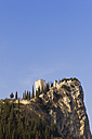 Italy, View of Castello di Arco on summit - MIRF000387