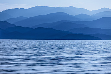 Turkey, Lycian Coast,  View of mountains - DSF000374