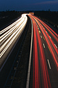 Europe, Germany, Bavaria, Munich, Rush hour at evening on highway - TCF002263