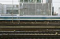 Germany, Bavaria, Munich, Train near main station - LFF000430