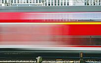 Germany, Bavaria, Munich, Train near main station - LFF000432