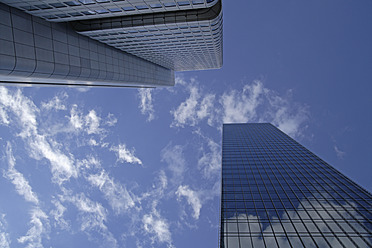 Germany, Hesse, Frankfurt, View of high rise buildings - TCF002458