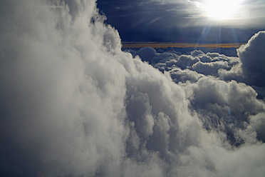 Germany, View of clouds from aeroplane - TCF002454