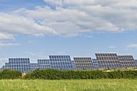 Germany, Saxony, View of solar panels - MJF000023