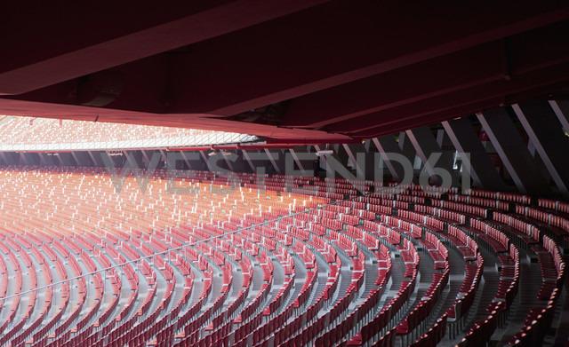 China, Beijing, Empty National Stadium - FL000084 - Florian Löbermann/Westend61