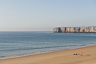 Portugal, Family on beach - MIRF000494