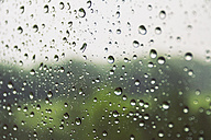 Austria, Raindrops on window - WVF000237
