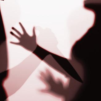 Close up of knife crime scene - TLF000664