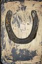 Close up of old horseshoe - TLF000691
