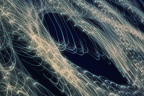 Long exposure of light trails at night - TLF000693