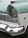 Germany, Cologne, Front-side with headlight of Ford Taunus veteran car - BSC000134