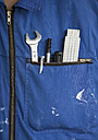 Work tools in overall pocket - WBF001265