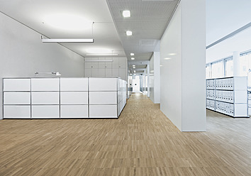 Germany, Interior of office reception - WBF001279