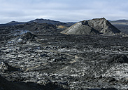 Iceland, View of Krafla and Volcanic landscape - WBF001380