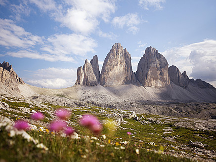 Italy, View of National Park Of Sesto Dolomites - BSCF000140