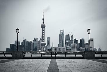 China, Shanghai, View of financial district at Pundong - WA000014