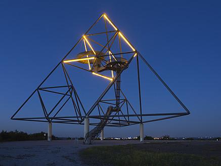 Germany, North Rhine Westphalia, Bottrop, Construction of tetraeder - HHE000013
