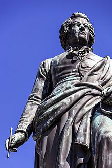 Austria, Salzburg, View of Mozart Statue - EJWF000030