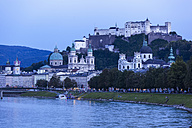 Austria, Salzburg, View of Hohensalzburg fortress - EJWF000048