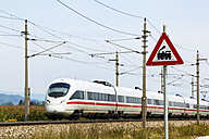 Germany, View of passenger train - EJW000129