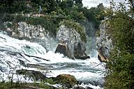 Switzerland, Schaffhausen, View of Rhein Falls - MAEF004855