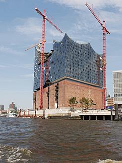 Germany, Hamburg, View of Elbe Philharmonic Hall - BSC000156
