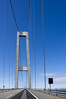 Denmark, View of Great Belt Bridge - HHEF000017