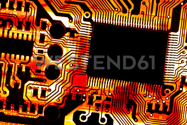 Close up of electronic circuit board - CPF000008