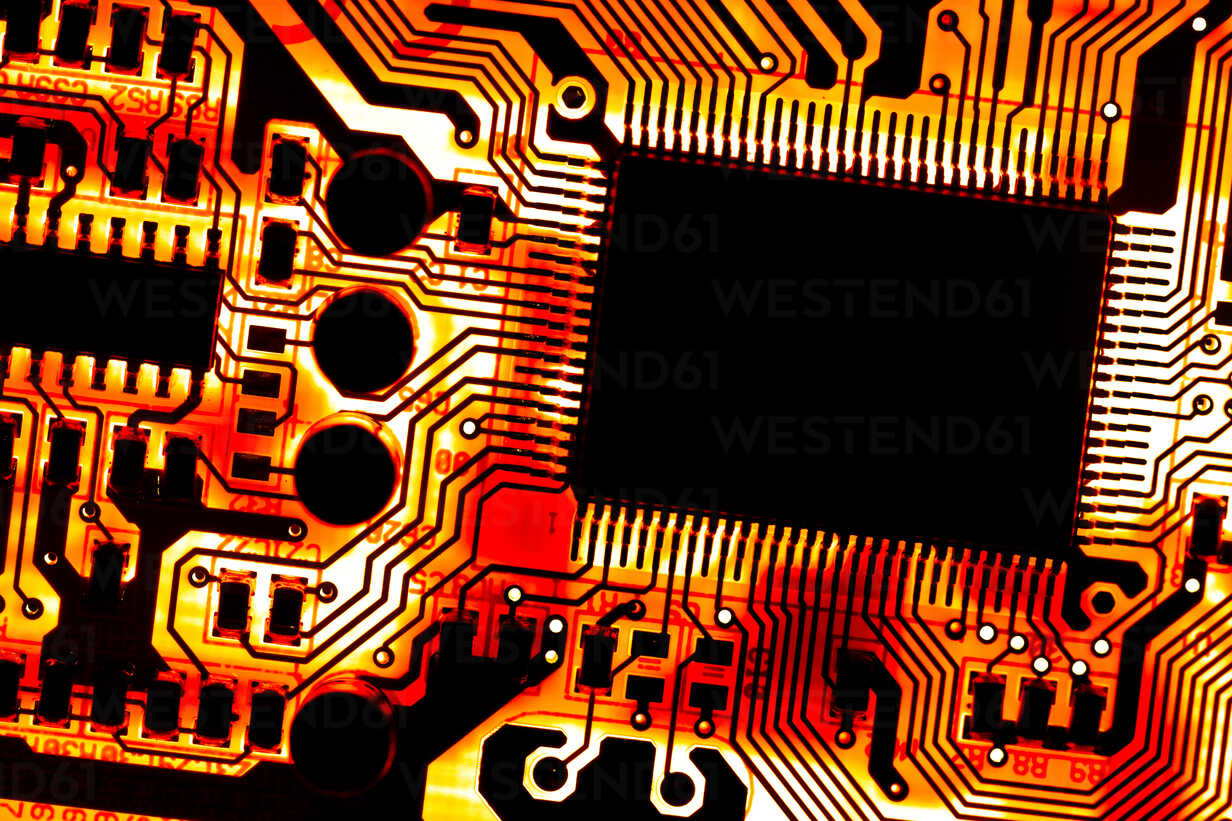 Close up of electronic circuit board - CPF000008 - Christoph Prall/Westend61