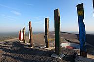 Germany, North Rhine Westphalia, Bottrop, View of Stockpile Haniel with amphitheatre - AKU000001