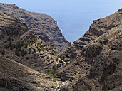 Spain, La Gomera, Barranco de Argaga at Valle Gran Rey - SIEF003005