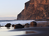 Spain, View of Playa del Ingles at Canary Islands - SIEF003009
